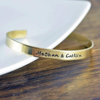 Custom Cuff Bracelet, Personalized ..