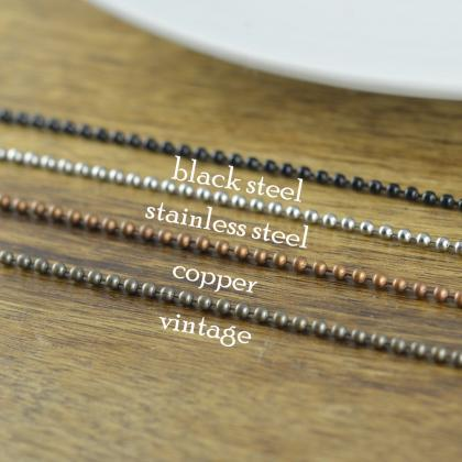 Silver Chain, Copper Chain, Stainle..