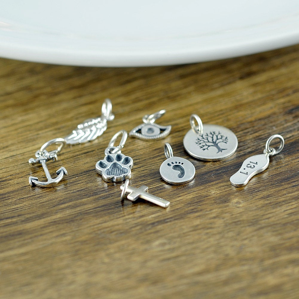 Silver Charm, Add A Charm, Add On, Silver Charms