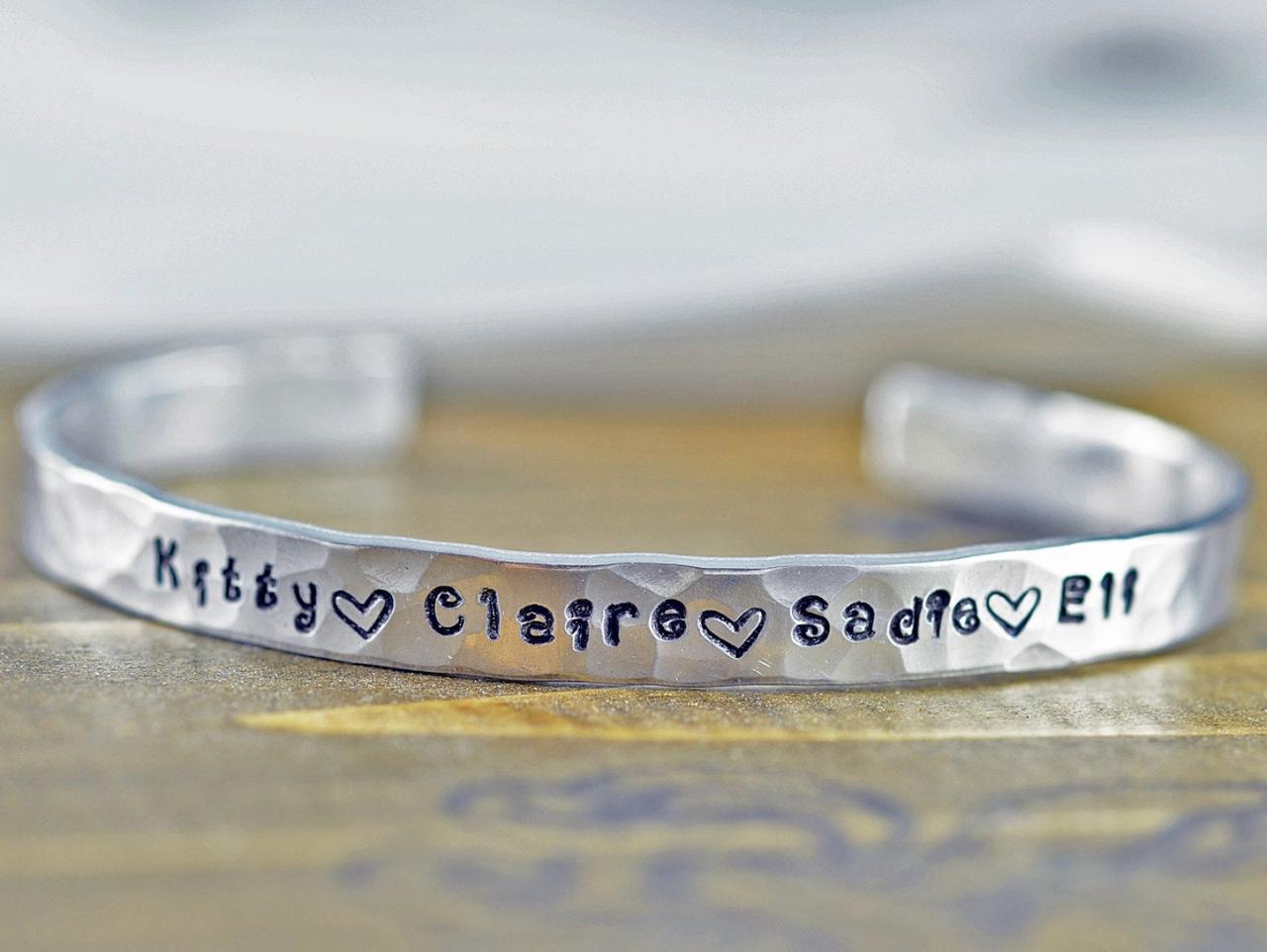 Custom Cuff Bracelet Personalized