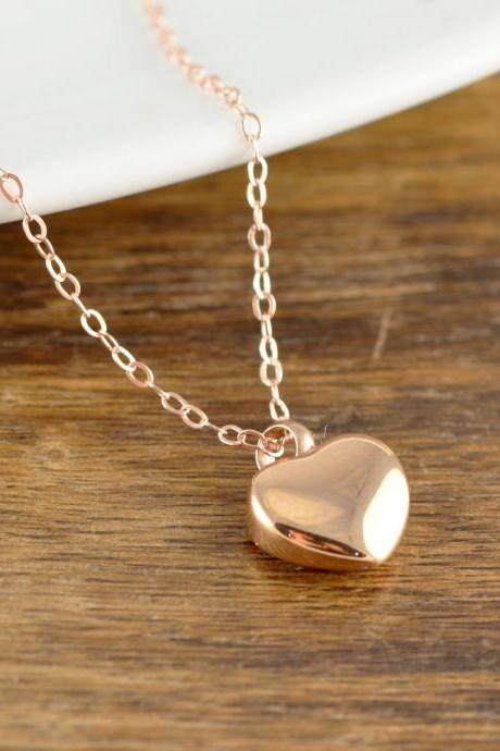 Cremation Jewelry, Ash Jewelry, Heart Cremation Pendant, Urn Necklace For Ashes, Rose Gold Heart Necklace, Cremation Necklace
