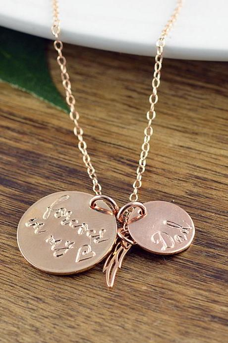 Forever In My Heart Necklace, Parent Loss, Baby Loss, Pet Loss, Memorial, Remembrance, Miscarriage, Bereavement