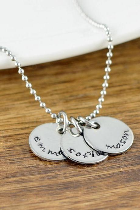 Personalized Mom Gifts, Gift for Mom ,Custom Initial Necklace, Mothers Necklace, Mothers Day Gift, Name Necklace