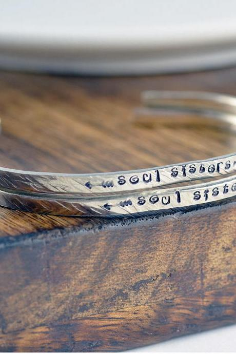 Soul Sister Gift, Soul Sister Bracelet, Friendship Bracelet, Best Friend Bracelet, souls sisters bracelets, Secret Message Jewelry